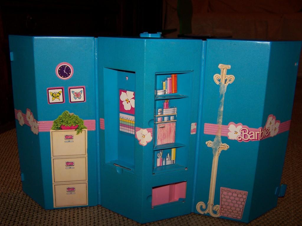 Casa Ufficio Barbie : Casa studio barbie giorno e sera chincagiò