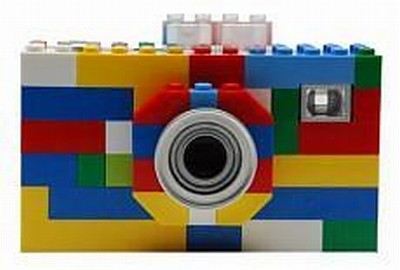lego, macchina, fotografica, pentax, digital camera, colette