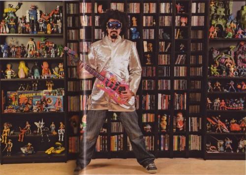 caparezza, robot, anni ottanta, collezione, giocattoli, l'espresso